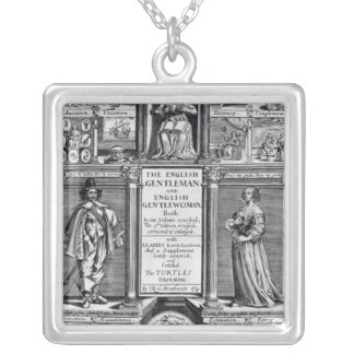 Frontispiece to 'The English Gentleman Silver Plated Necklace