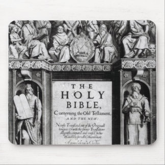 Frontispiece to 'The Holy Bible' Mouse Mat
