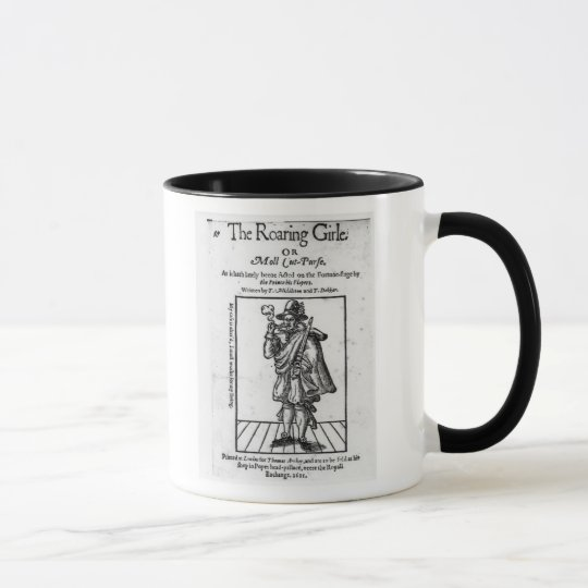 Frontispiece to 'The Roaring Girle' Mug