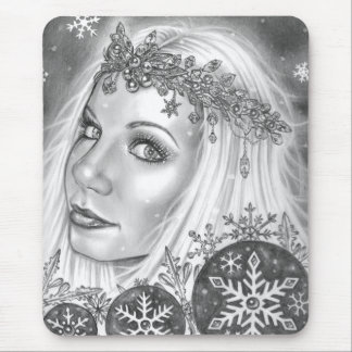 Frost Angel Mouse Pad