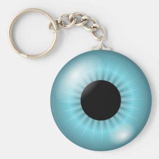 Frost Blue Eye Keychains
