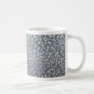 frost closeup on car window mugs