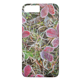 Frost covered leaves, Canada iPhone 8 Plus/7 Plus Case