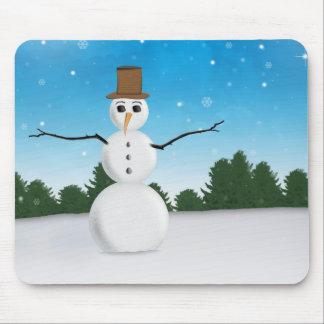 Frost E. Snowman Mouse Pad
