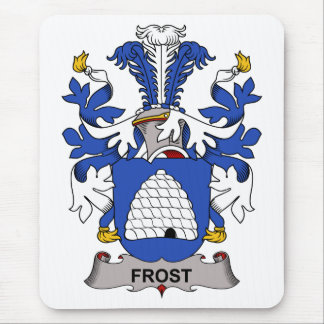 Frost Family Crest Mousepad