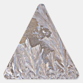 Frost Frenzy Triangle Sticker