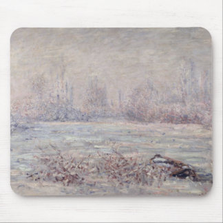 Frost near Vetheuil, 1880 Mouse Mat