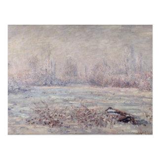 Frost near Vetheuil, 1880 Postcard