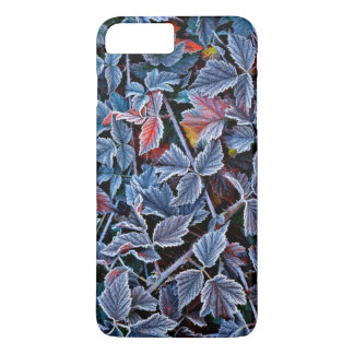 Frost on autumn leaves, Oregon iPhone 7 Plus Case