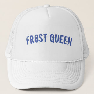 Frost queen trucker hat