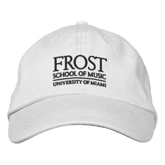 Frost School of Music Logo Embroidered Baseball Caps