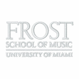 Frost School of Music Logo Embroidered Hoodies