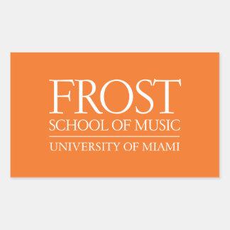 Frost School of Music Logo Rectangle Sticker