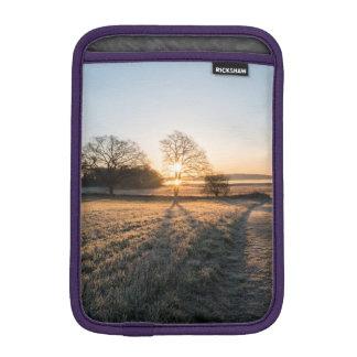 Frost sunset iPad mini sleeve