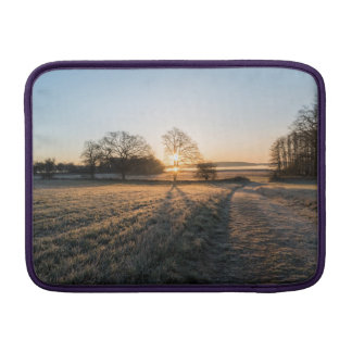 Frost sunset sleeve for MacBook air