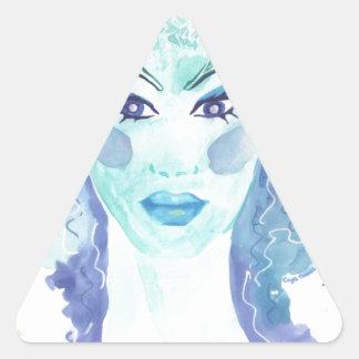 Frost Triangle Sticker