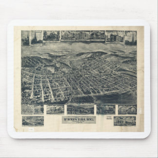 Frostburg, Maryland in 1905 Mouse Pad