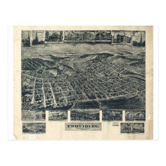 Frostburg, Maryland in 1905 Postcard