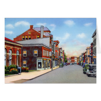 Frostburg Maryland National Road Greeting Card