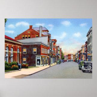 Frostburg Maryland National Road Print