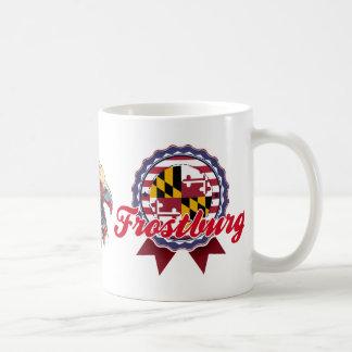 Frostburg, MD Basic White Mug