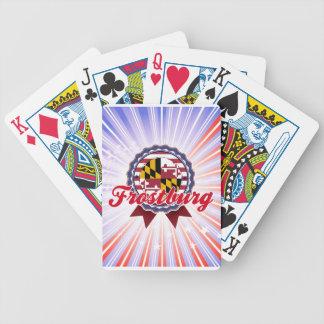 Frostburg MD Bicycle Poker Deck