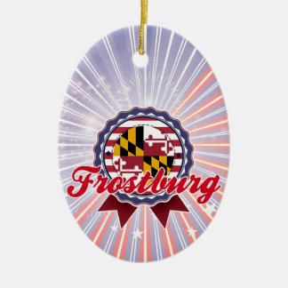 Frostburg, MD Ceramic Oval Decoration