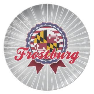 Frostburg, MD Plate