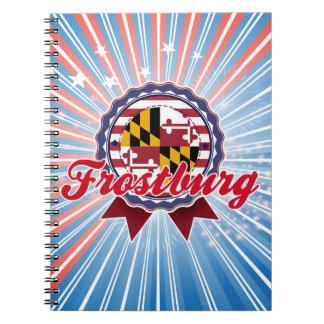 Frostburg MD Spiral Note Books