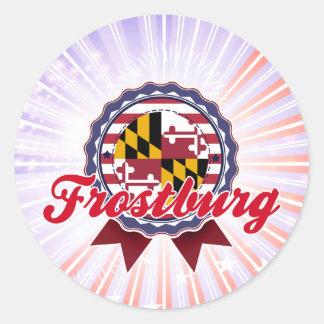 Frostburg, MD Round Stickers