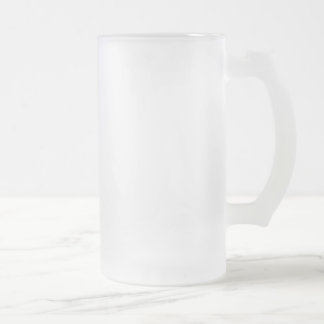 Frosted 16 oz Frosted Glass Stein Frosted Glass Mug