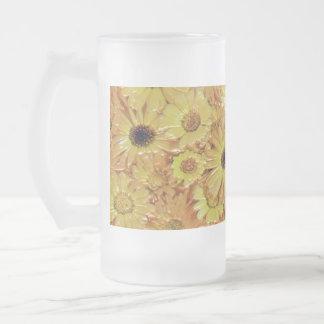 frosted 16 oz glass mug