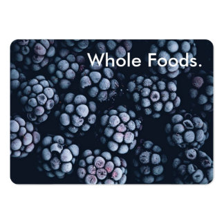 Frosted Black Raspberries Pack Of Chubby Business Cards