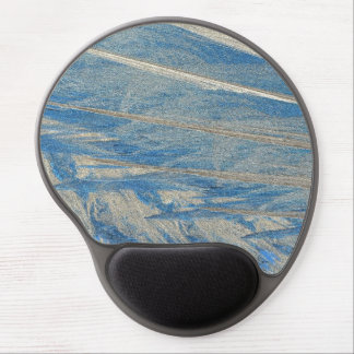 Frosted Blue Gel Mouse Pad