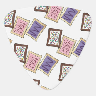 Frosted Breakfast Toaster Pastry Junk Food Foodie Plectrum