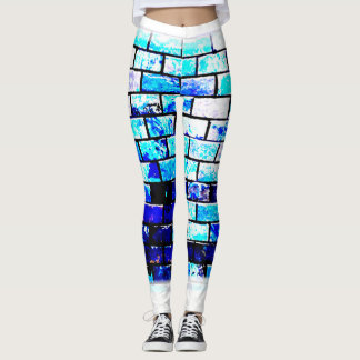 frosted bricks leggings