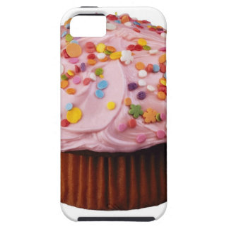 Frosted cupcake with sprinkles iPhone 5 cases
