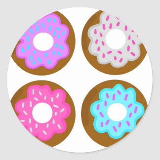 Frosted Donut Stickers