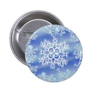 Frosted Edges II 6 Cm Round Badge