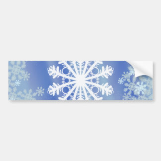 Frosted Edges VIII Bumper Sticker