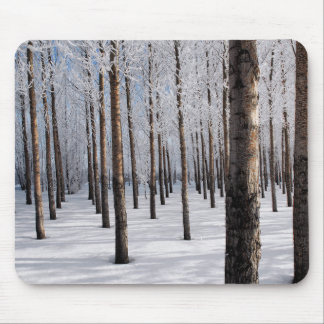 Frosted Forest Mouse Pad