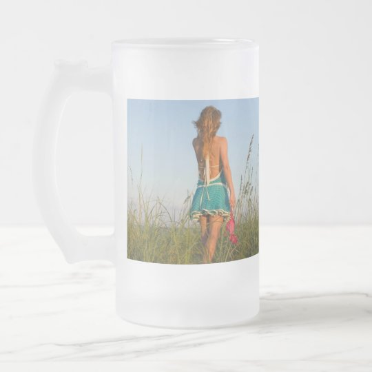 Frosted Glass Frosted Glass Beer Mug