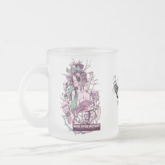 Frosted Glass Mug Bitch n Bird from FW Designs