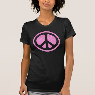 Frosted Glass Peace Sign T-shirt