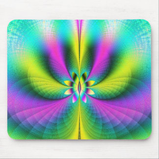 Frosted Glass Psychedelia Mouse Pad