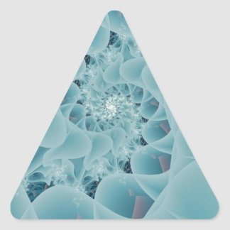 Frosted Lace.jpg Triangle Sticker