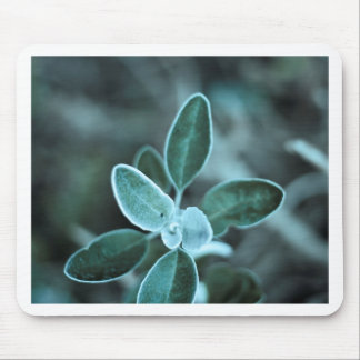 Frosted Leaf Mouse Pad