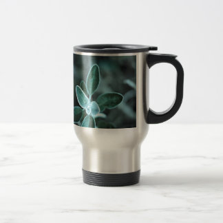 Frosted Leaf Stainless Steel Travel Mug