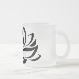 Frosted Lotus Mug