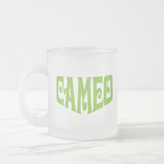Frosted Mug with Cameo Logo